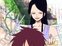 Raki Gives Aisa a Haircut