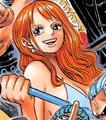 Tercera vestimenta de Nami en Film Gold manga