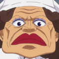 Cocinera de la isla Fron portrait
