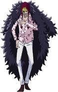 Donquixote Rosinante Anime Concept Art