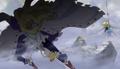 Hakuba qui bat Dellinger anime