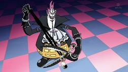 Moriah Cuts Luffy's Shadow