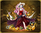 TC725 Nefeltari Vivi Voyage Log Princess of Alabasta