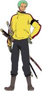 Zoro Movie 9 Outfit