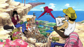 Crazy Rainbow Star - Usopp, Luffy, Robin et Chopper