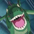 Dragon vert de Punk Hazard Portrait