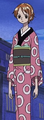 Vestimenta de Nami en el especial histórico del Jefe Luffy