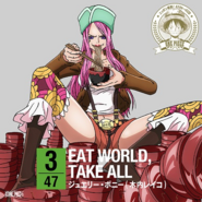 EAT WORLD, TAKE ALL