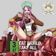 EAT WORLD, TAKE ALL