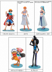 One Piece Styling Figures Super Styling