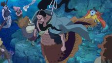 Aladine le pide a Jinbe que sobreviva