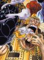 Gatz a color en el manga