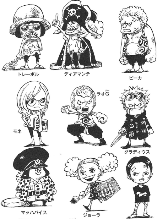 SBS80 6 Donquixote Pirates as Children