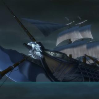 La nave ammiraglia di Zephyr, la <a href=