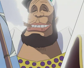 Yamakaji's Face Close Up
