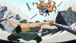 Zoro bat Hyouzou