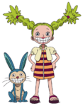 Chimney and Gonbe Anime Concept Art