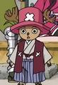 Chopper Boss Luffy