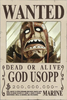 God Usopp's Wanted Poster