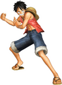 Luffy Pirate Warriors Pre Ellipse