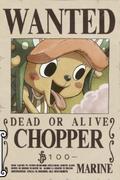 Poster Buronan Tony Tony Chopper