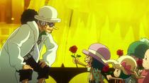 Рикка продаёт цветы