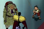 Akisu Trying To Save Borodo