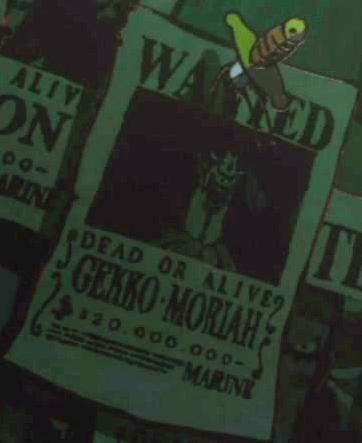 Gekko Moriah Avis de Recherche