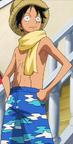 Luffy Tampilan Movie 10 Pertama