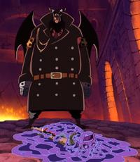 Magellan sconfigge Rufy