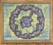 Navarone Island Map