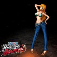 One Piece Burning Blood Nami (Artwork)
