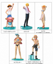 One Piece Styling Figures Grand Holiday