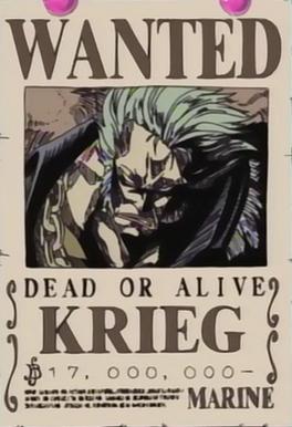 Wanted de Krieg