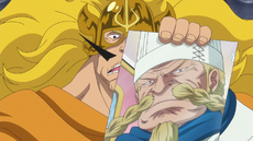 Judge amenaza a Sanji con matar a Zeff