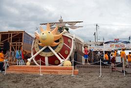 Mini Casa de playa Thousand Sunny