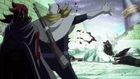 Vinsmoke Ichiji utilise la technique Mur
