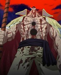 Whitebeard's Death in the Anime