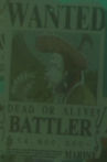 Battler Wanted Poster