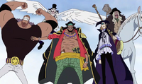 Blackbeard Pirates Arrive at Impel Down
