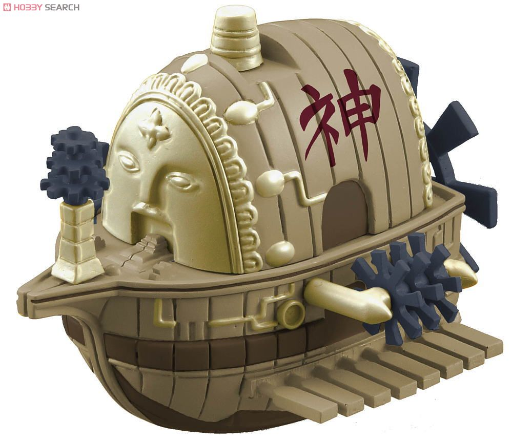 One Piece Wobbling Pirate Ship Collection | One Piece Wiki | FANDOM ...