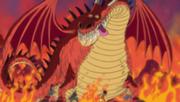Strawhats encounter a Dwelling Dragon