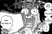 Jobo regardant la prime de Luffy