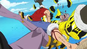 Luffy vs krieg