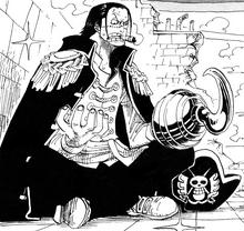 Crocodile como rey de los piratas