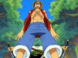 Monkey D. Luffy vs. Roronoa Zoro/2