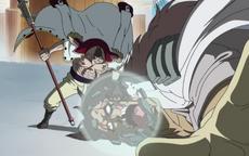Shirohige Mengalahkan Ronse