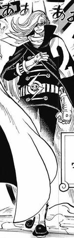 Vinsmoke Niji Manga Infobox