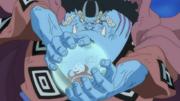 Jinbei utilise le Karaté Amphibien