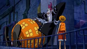 Luffy y Moriah